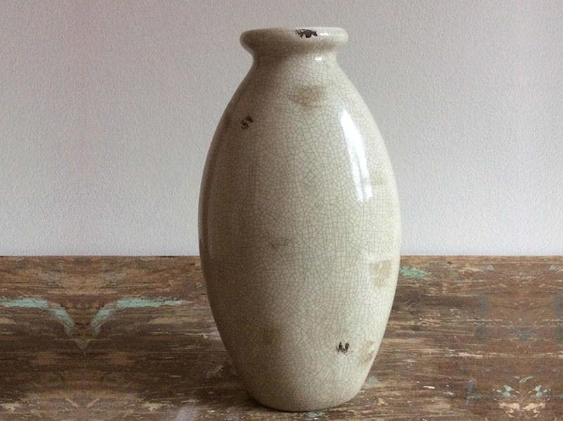 Vaso in Ceramica Effetto Crepato