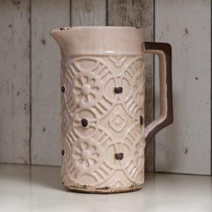 Vaso Brocca Ceramica Rosa