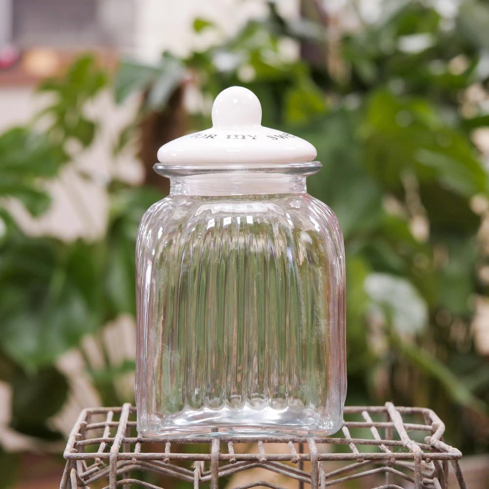 Vasi in vetro con tappo bianco for my sweet elena fiori for Vasi ermetici vetro