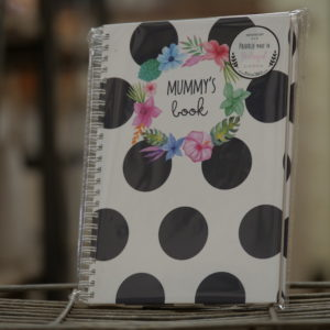 Baby Book Black White