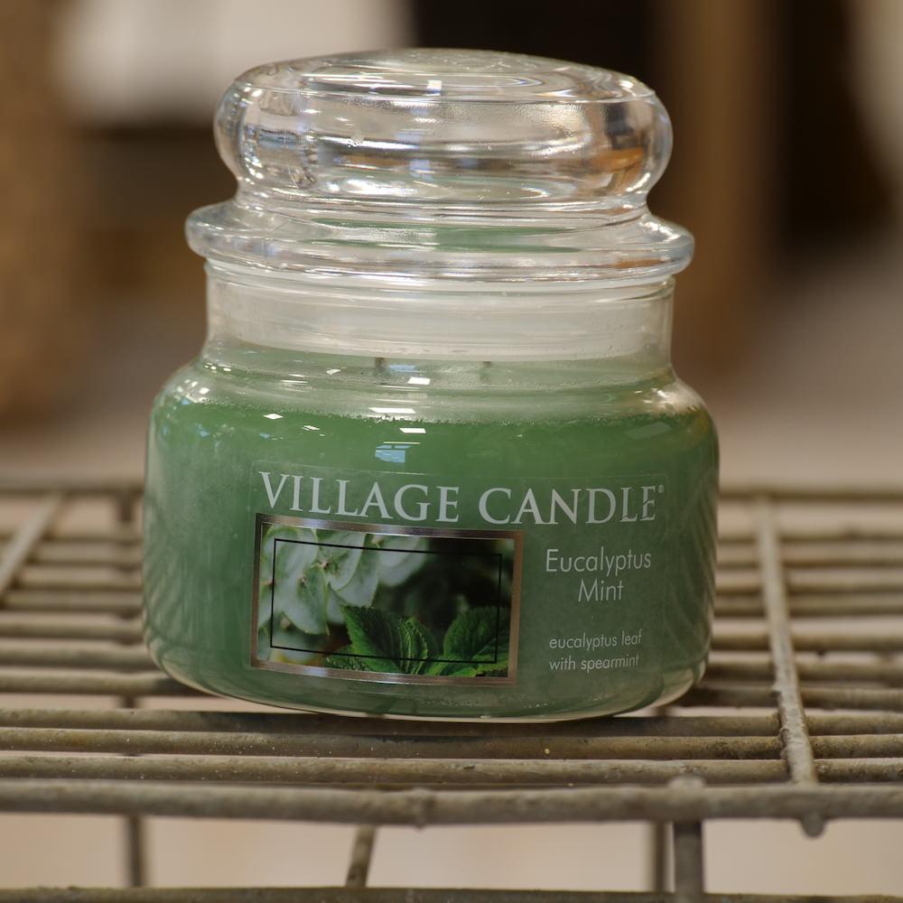 Village Candle Eucalyptus Mint - Elena Fiori
