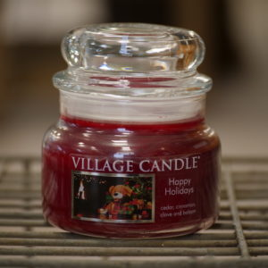 Village Candle Happy Holidays - Elena Fiori