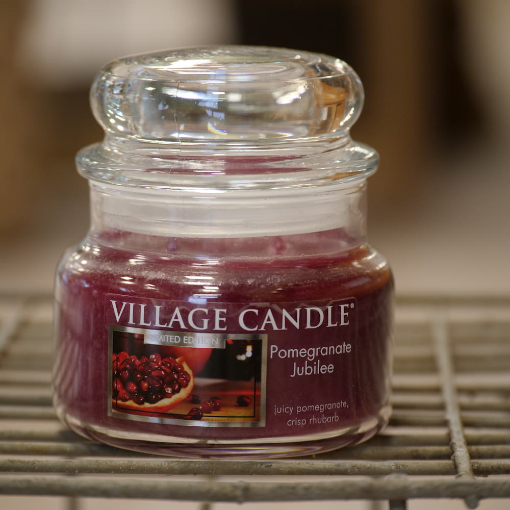 Village Candle Pomegranate Jubilee - Elena Fiori