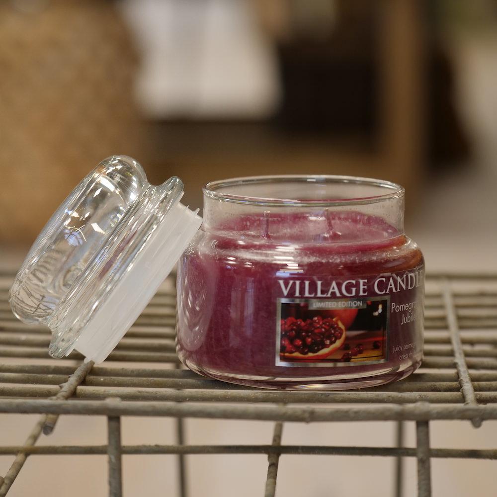 Village Candle Pomegranate Jubilee - Elena Fiori
