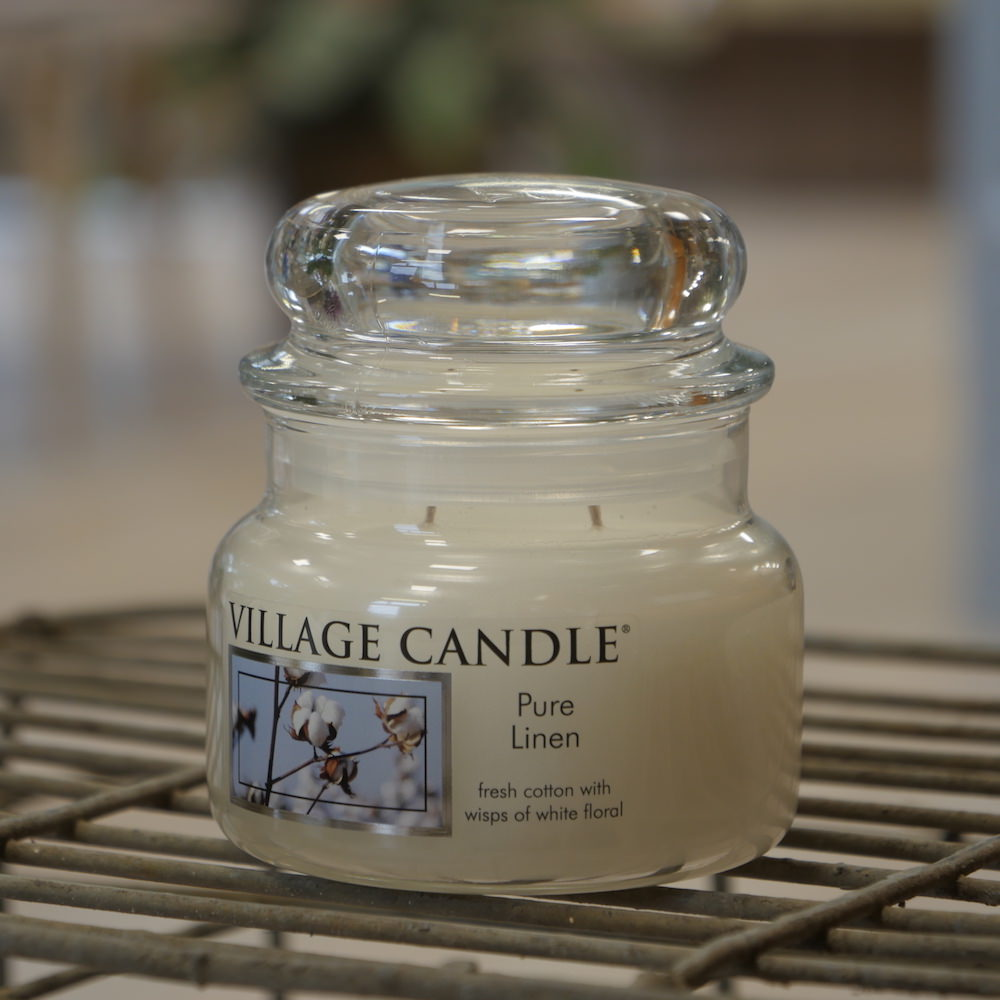 Village Candle Pure Linen - Elena Fiori