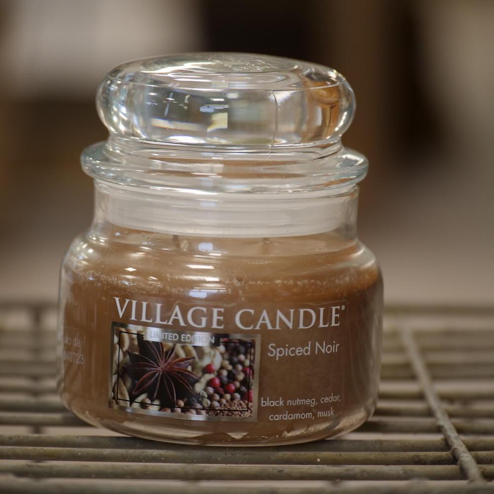 Village Candle Spiced Noir - Elena Fiori