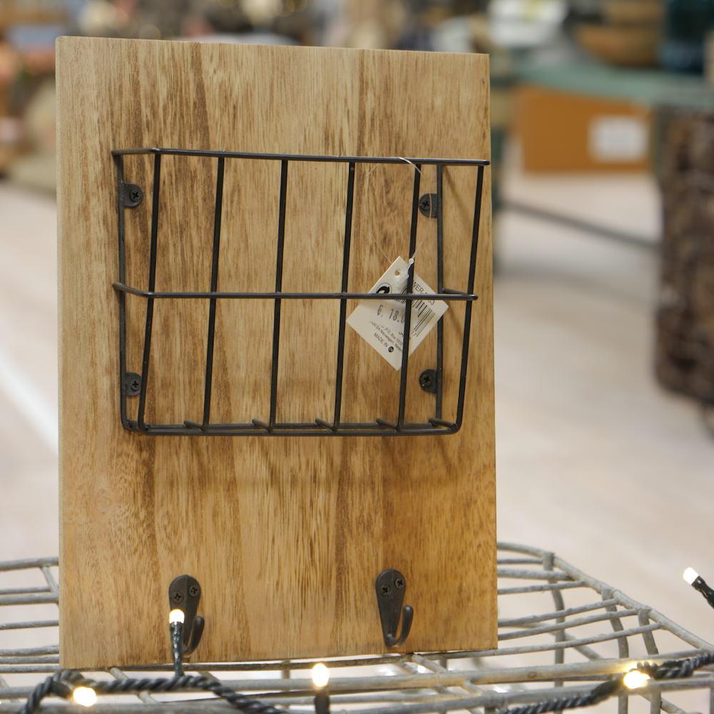 Porta Lettere & Chiavi in legno