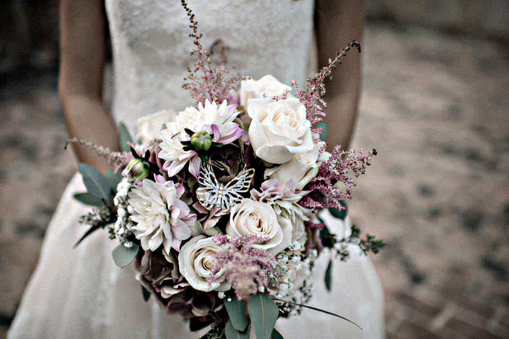 La scelta del bouquet da sposa Elena Fiori