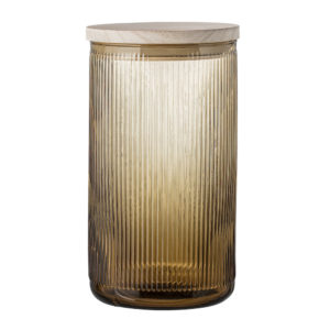 Barattolo Jar Brown Glass