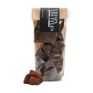 Tartufi Cioccolato Caramello e Croccante