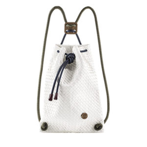 If Bags Rucksack Woven White