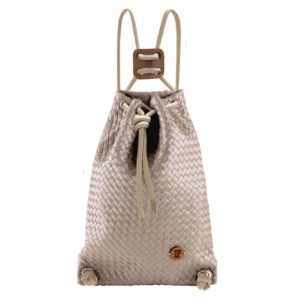 If Bags Rucksack Woven Cappuccino