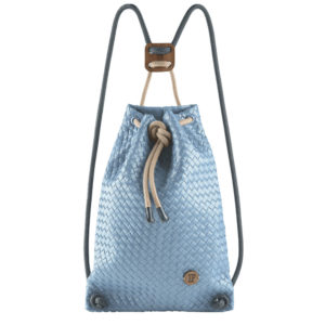 If Bags Rucksack Woven Light Blue