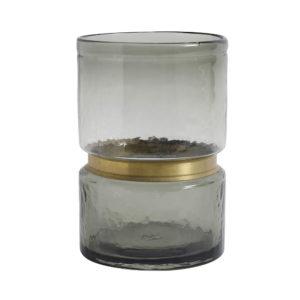 Vaso Ring Vetro Grey