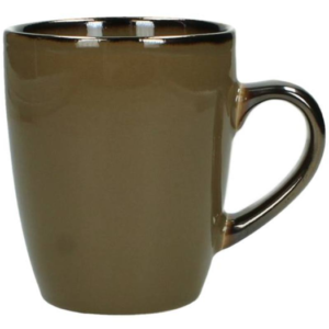 mug marrone in ceramica