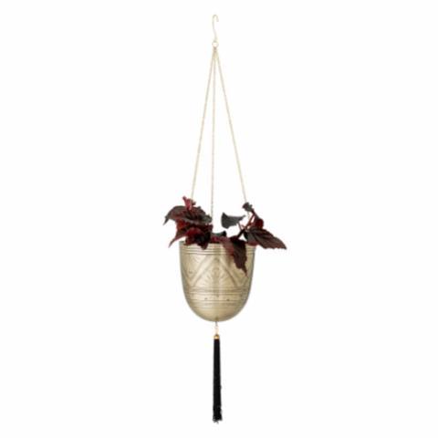 vaso sospeso in ottone per soffitto e stand