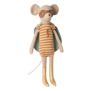 Topina supereroe con mantello. Lasciate che la fantasia del vostro bambino si scateni con questi topi supereroi.