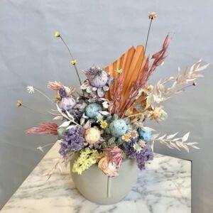 vaso fiorito multicolor