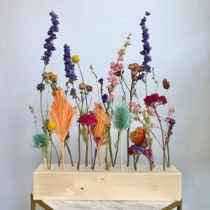 fiori al cubo - multicolor