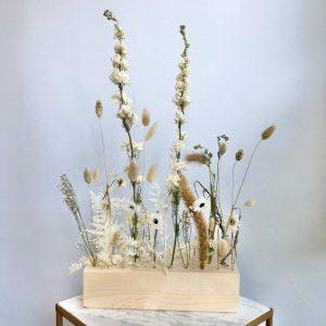 fiori al cubo - naturale