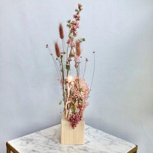fiori al cubo - cipria e rosa