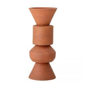 vaso decorativo Karar in terracotta a forme geometriche